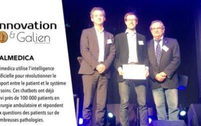 Calmedica remporte le prix Galien 2017